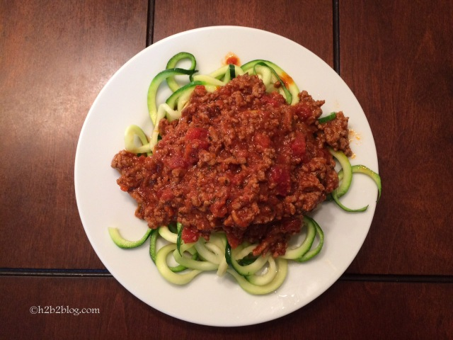 Zucchini Noodles Day 24